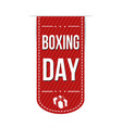 boxing day banner design vector image