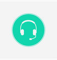 headphone icon sign symbol vector image vector image