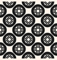 monochrome seamless pattern ornamental texture vector image vector image