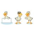 Pelican Mascot happy vector image vector image