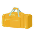 tennis bag icon cartoon style vector image vector image