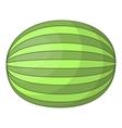 Watermelon icon cartoon style vector image vector image
