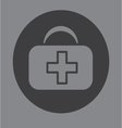 First aid bag icon symbol vector image