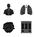 art education medicine and other web icon in vector image