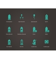 Contraception icons vector image vector image