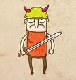 Gladiator Cartoon vector image vector image