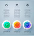 gradient business buttons background vector image
