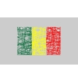 Republic of Mali flag design concept vector image vector image