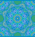 seamless pattern ethnic mandala with decorative vector image vector image