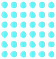 Turquoise seamless pattern vector image vector image