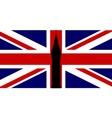 Union Flag Big Ben vector image vector image