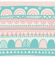 Vintage ethnic seamless backdrop vector image