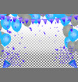 2019 happy new year background stars colorful vector image vector image