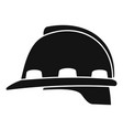 architect helmet icon simple style vector image vector image