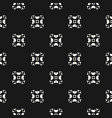 black and white abstract geometric background vector image vector image