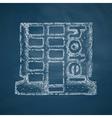 hotel icon vector image vector image