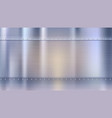 metal background with texture and rivets blurred vector image vector image