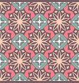 seamless pastel color geometry pattern vector image vector image