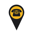 telephone signal vector image vector image