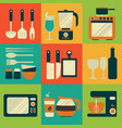 kitchenware equipment design vector image