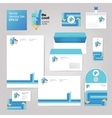 Art creative drawing corporate identity style set vector image vector image