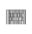 Barcode or code isolated on a background