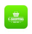 E shipping icon green