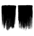 Grunge brush stroke background frames vector image