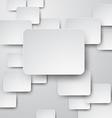 Paper white bachground vector image