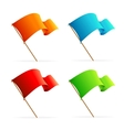 set flags icons vector image