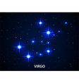Set of Symbol Zodiac Virgo vector image