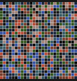square mosaic color palette color combo harmony vector image