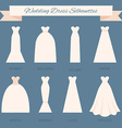 Wedding Dress Style vector image vector image