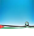 PALESTINE FLAG background vector image