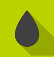 a drop of oiloil single icon in flat style