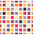 abstract seamless pattern with colorful squares vector image vector image