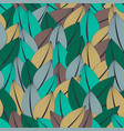 beautiful fashionable seamless pattern of abstract vector image vector image