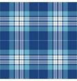 blue and light blue tartan plaid seamless pattern vector image vector image