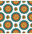 Floral seamless pattern modern background with vector image
