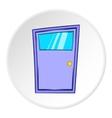 Kitchen door icon cartoon style vector image vector image