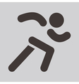 Running icon vector image vector image
