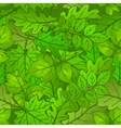 Summer Leaves Low Poly vector image