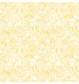 award white line seamless pattern vector image