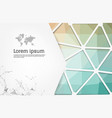abstract colorful geometric design template with vector image