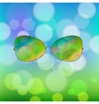 Colorful Sun Glasses vector image vector image