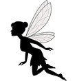 cute fairy flying vector image