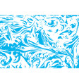 marbled abstract background liquid marble vector image vector image