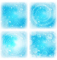 abstract background bright blue set