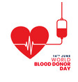 donate blood save lives concept background vector image