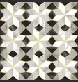 luxury marble mosaic star tile seamless pattern vector image vector image